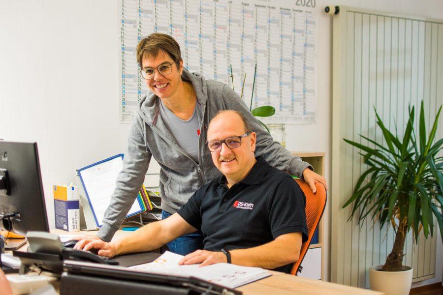 Sabine + Uli Schreibtisch 2